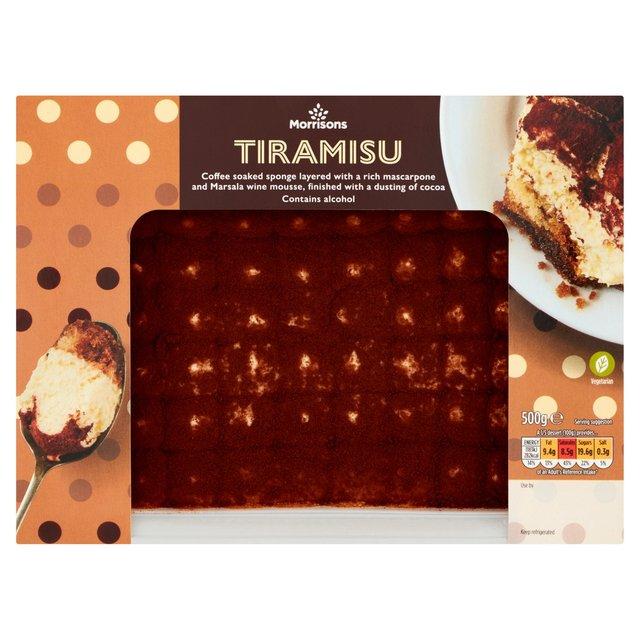 Morrisons Tiramisu 500gProduct Information