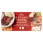 Morrisons Really Good Puds Sticky Toffee Puddings
