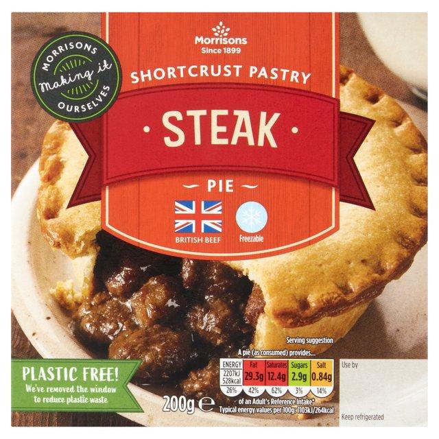 Morrisons Shortcrust Steak Pie | Morrisons