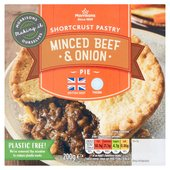 Morrisons Shortcrust Minced Steak & Onion Pie