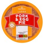 Morrisons Large Pork Pie & Egg