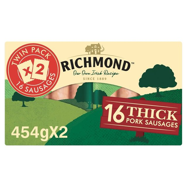 Richmond Thick Pork Sausages 16 Pack