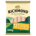 Richmond Thin Pork Sausages 12 Pack