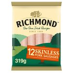 Richmond Skinless Pork Sausages 12 Pack