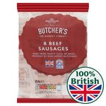 Morrisons Butcher's Style Beef Sausages