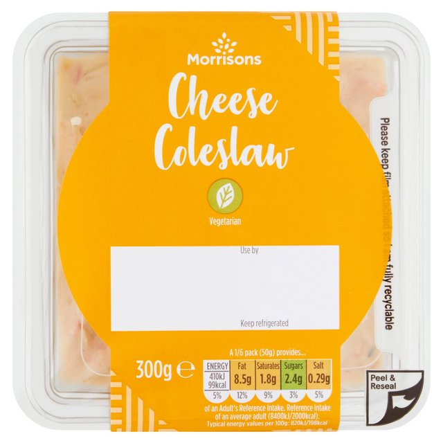 Morrisons Cheese Coleslaw