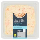 Morrisons The Best Reduced Fat Extra Crunchy Thick-Cut Coleslaw