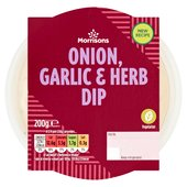 Morrisons Onion, Garlic & Herb Dip