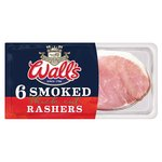 Wall's Thick Cut Smoked Bacon 6 Rashers