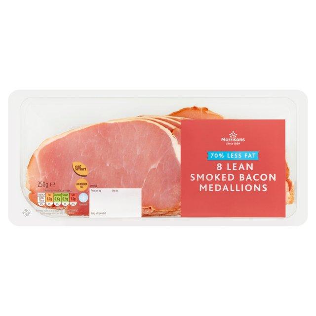 morrisons morrisons eat smart smoked bacon 8 x 31g product information. Black Bedroom Furniture Sets. Home Design Ideas