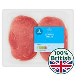 Morrisons Unsmoked Gammon Steaks