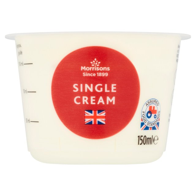 Morrisons Single Cream