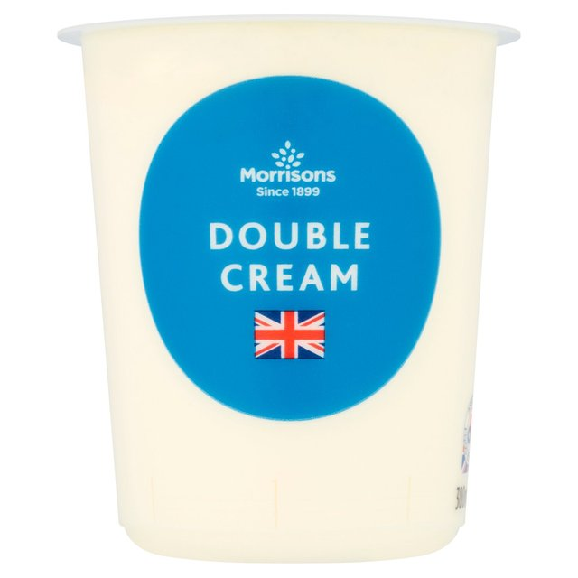 Morrisons Double Cream