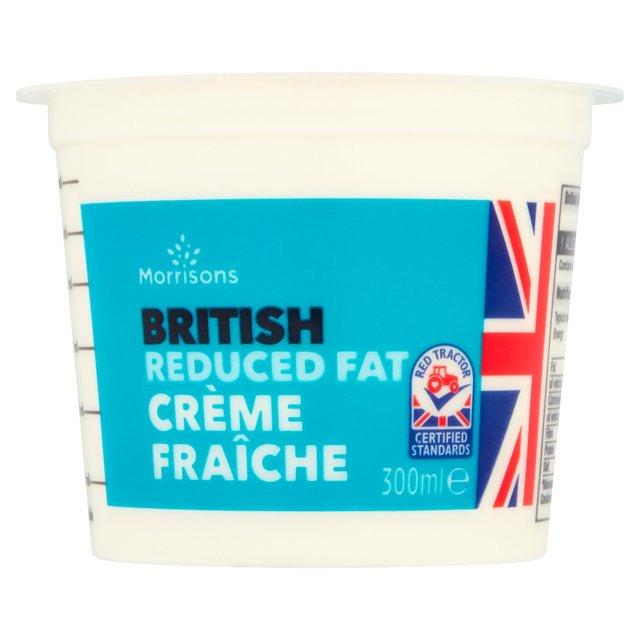 Morrisons 50% Less Fat Crème Fraîche