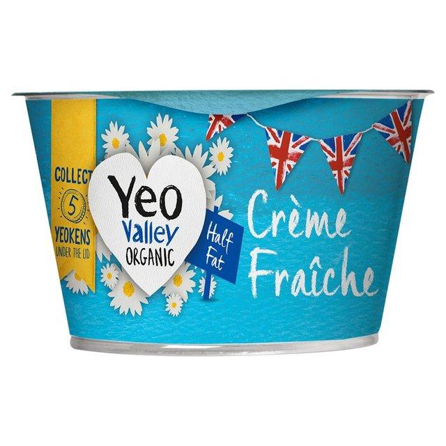 Yeo Valley Organic Half Fat Creme Fraiche