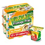 Wildlife Strawberry & Peach Fromage Frais