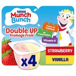 Munch Bunch Double Up Strawberry & Vanilla Fromage Frais