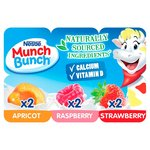 Munch Bunch Apricot, Raspberry & Strawberry Fromage Frais