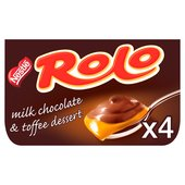 Rolo Milk Chocolate & Toffee Desserts