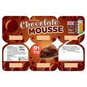 Morrisons Chocolate Mousse