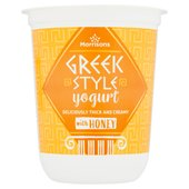 Morrisons Greek Style Yogurt with Honey