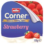 Muller Corner Plain Yoghurt With Strawberry Compote