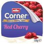 Muller Corner Plain Yoghurt With Red Cherry Compote