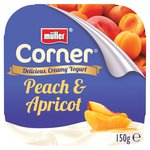 Muller Corner Plain Yoghurt With Peach & Apricot Compote
