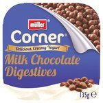 Muller Corner Vanilla Yoghurt With Chocolate Digestive Biscuits