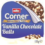 Muller Corner Vanilla Yoghurt With Chocolate Balls