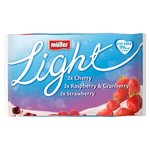 Muller Light Fat Free Mixed Red Fruits variety Yoghurt Pack