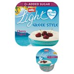 Muller Light Greek Style Morello Cherry Yogurts