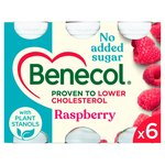 Benecol Raspberry No Added Sugar Yogurt Drink