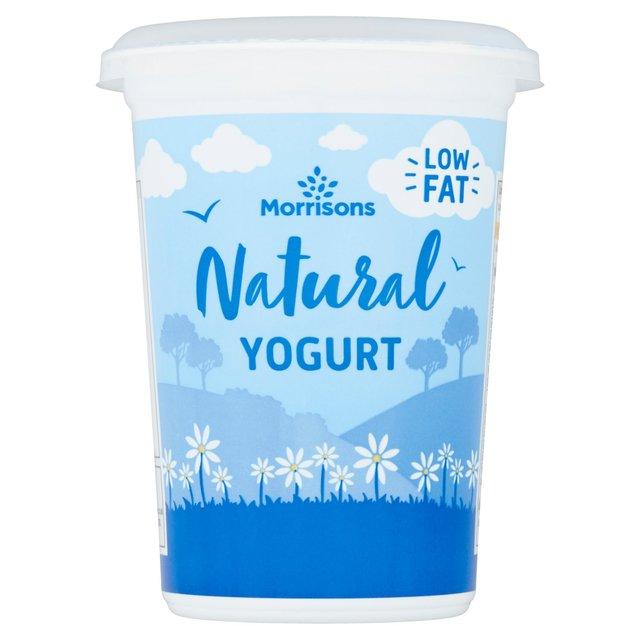 Morrisons Morrisons Low Fat Natural Yogurt 500g Product