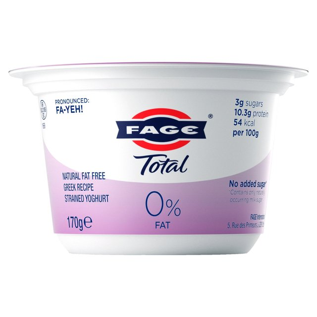 Fage Total 0% Fat Authentic Greek Yogurt