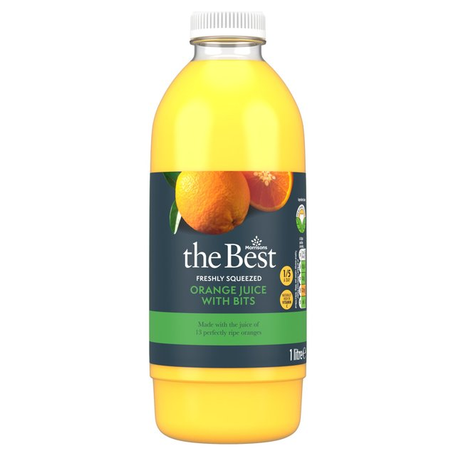 Morrisons The Best Freshly Squeezed Orange Juice with Bits