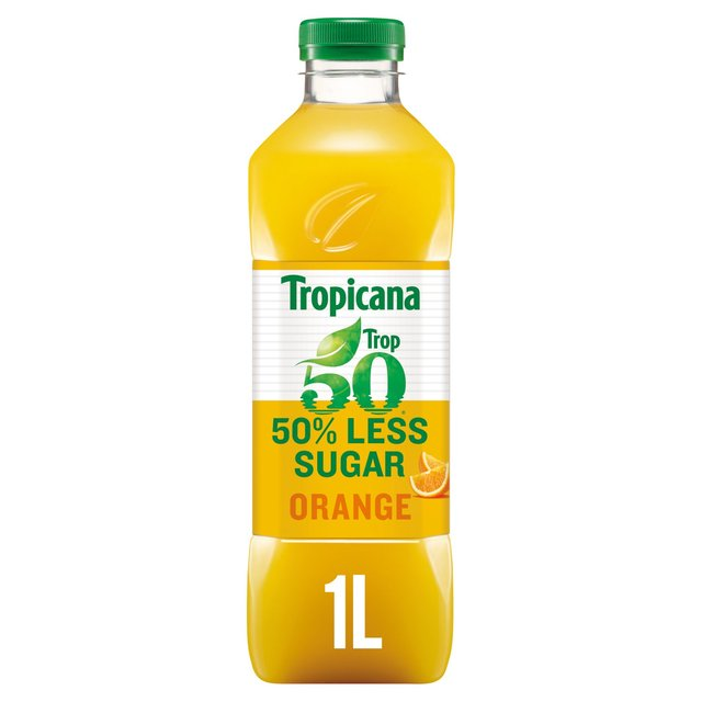Tropicana Trop50 Orange Juice 1L 1L
