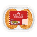 Morrisons 2 Cheese & Ham Breaded Chicken Kievs