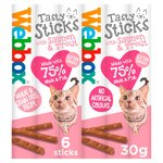 Webbox Cats Delight 6 Tasty Sticks with Salmon & Trout
