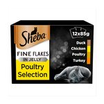 Sheba Pouch Fine Flakes Poultry Selection