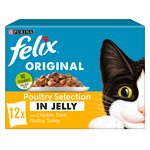 Felix Cat Food Poultry Selec In Jelly