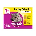 Whiskas Complete Poultry Selection in Jelly