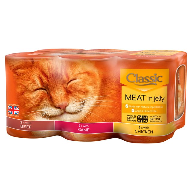 Morrisons: Butcher's Classic Cat Meat Variety 6 x 400g