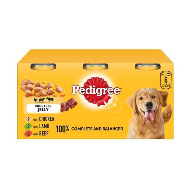 Pedigree Complete Variety in Jelly