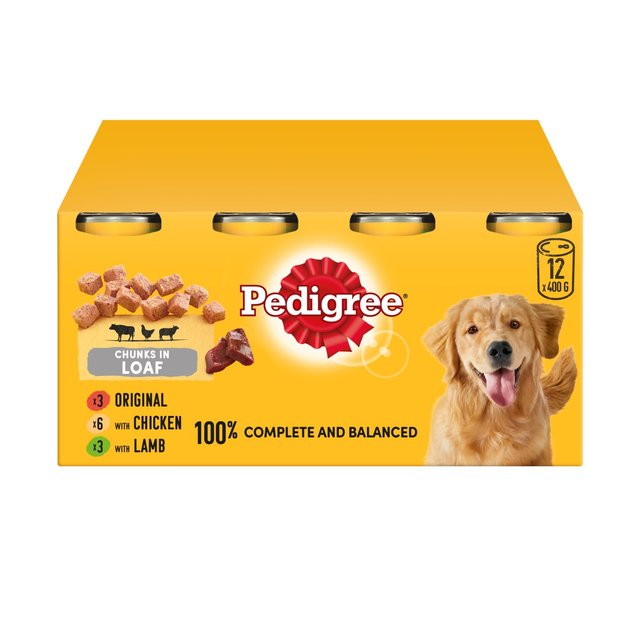 Pedigree Complete Variety Loafs Morrisons