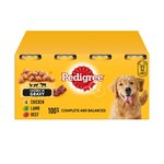Pedigree Complete Variety in Gravy Tins