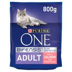 Purina One Adult Cat Salmon and Whole Grain