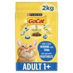 Go-Cat Adult Cat Food Tuna, Herring and Vegetables