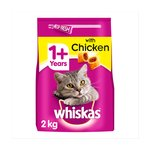 Whiskas Complete Dry Cat Food Chicken