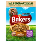 Bakers Senior Dog Food Chicken and Vegetable